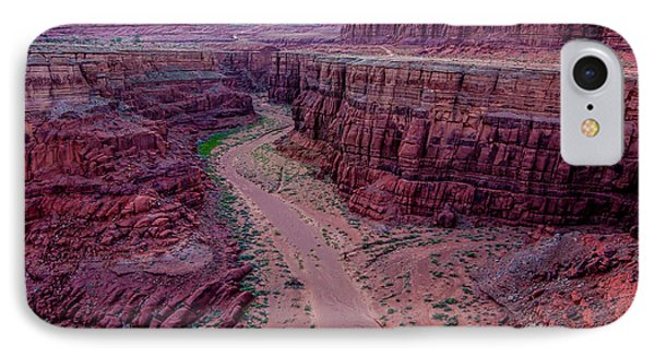 IPhone Case featuring the photograph Shafer Canyon At Sunset - Moab - Utah by Gary Whitton