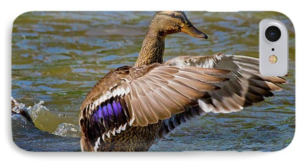 IPhone Case featuring the photograph Shake It Off by Linda Unger