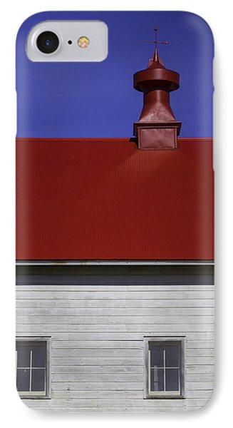 Shaker Red Roof IPhone Case by Garry Gay