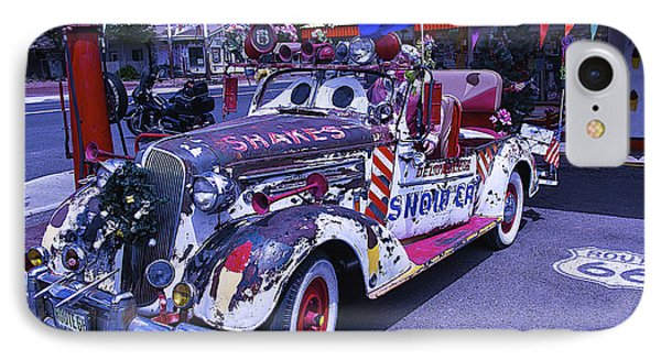 Shakes Automobile IPhone Case by Garry Gay