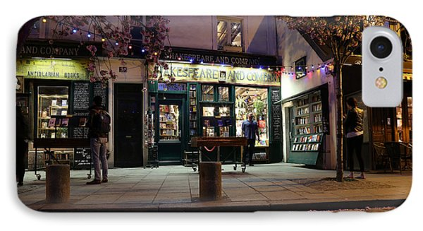 IPhone Case featuring the photograph Shakespeare Book Shop 1 by Andrew Fare