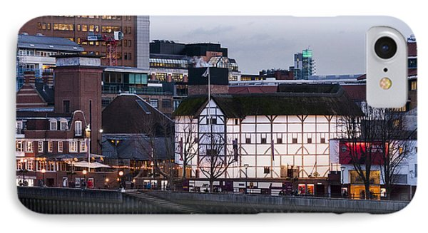 Shakespeare's Globe IPhone Case by David Isaacson