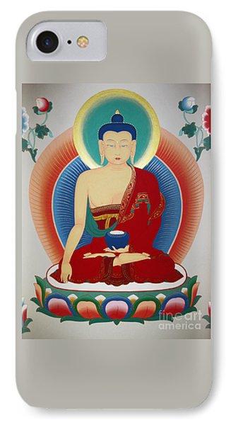 Shakyamuni Buddha  IPhone Case by Sergey Noskov