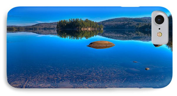 Shallow Water On Seventh Lake IPhone Case by David Patterson