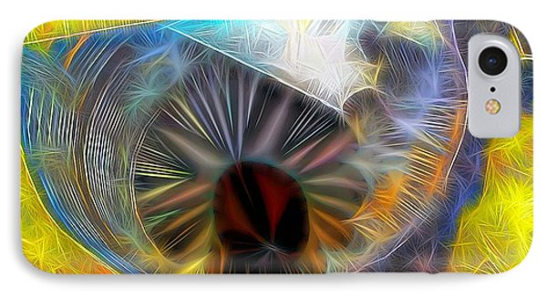 IPhone Case featuring the digital art Shallow Well by Ron Bissett