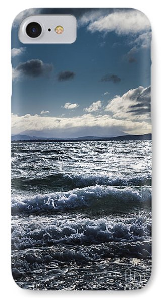 Shallows And Depths Of Adventure Bay IPhone Case by Jorgo Photography - Wall Art Gallery
