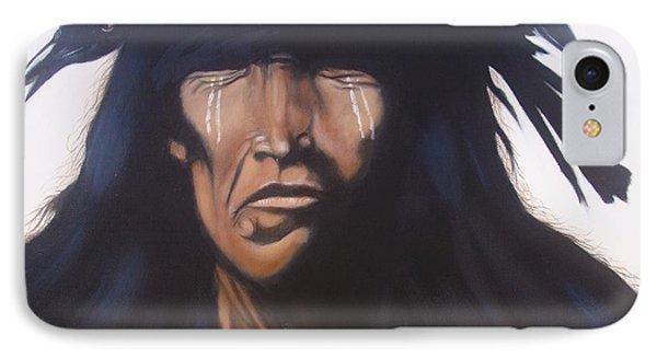 Shaman IPhone Case by Jean Yves Crispo