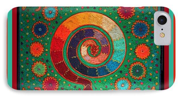 Shaman Serpent Ritual IPhone Case by Vagabond Folk Art - Virginia Vivier