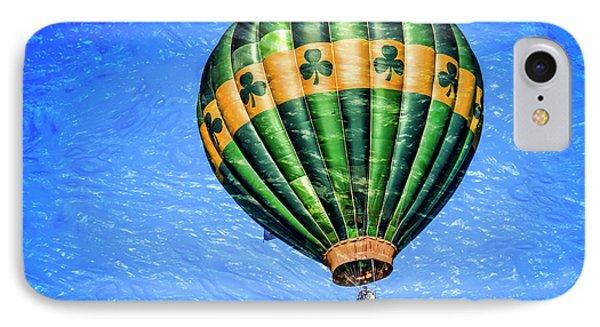 Shamrock Balloon IPhone Case