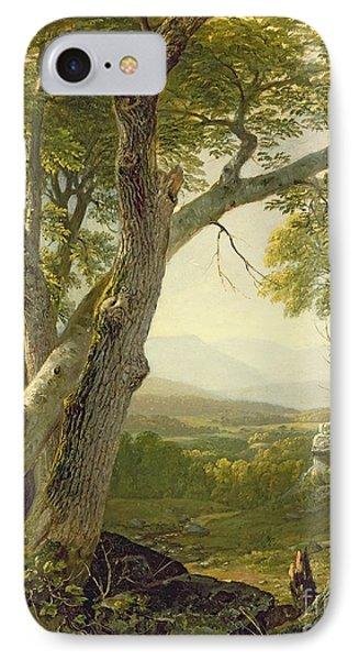 Shandaken Ridge - Kingston IPhone Case by Asher Brown Durand