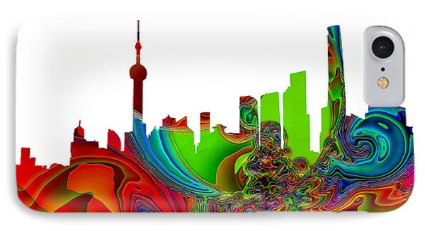 Shanghai  IPhone Case by Thomas M Pikolin