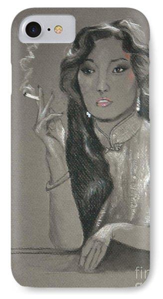 Shanghai Triad -- Portrait Of Chinese Film Star IPhone Case