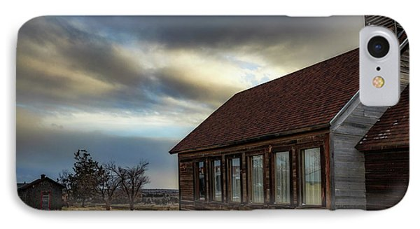 IPhone Case featuring the photograph Shaniko Schoolhouse by Cat Connor