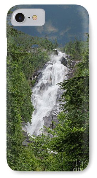 IPhone Case featuring the photograph Shannon Falls by Rod Wiens