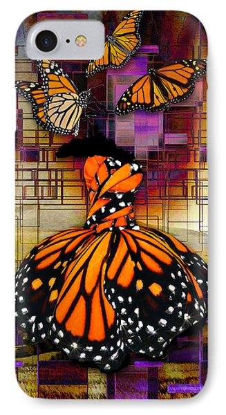 IPhone Case featuring the mixed media Shape Shifting by Marvin Blaine