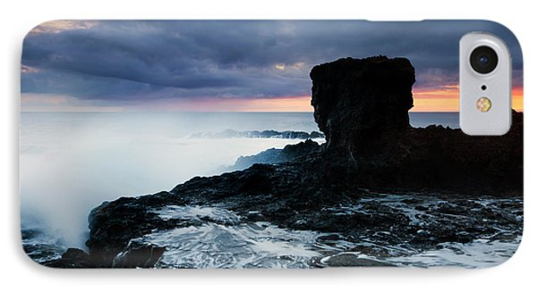 Shaped By The Waves Phone Case by Mike  Dawson