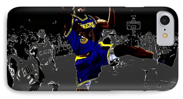Shaq IPhone Case by Brian Reaves