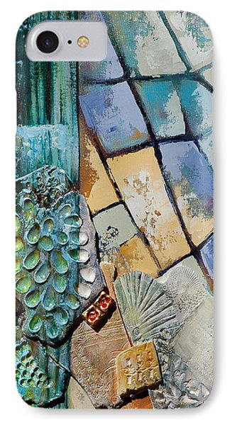 Shards Water Clay And Fire Phone Case by Suzanne McKee