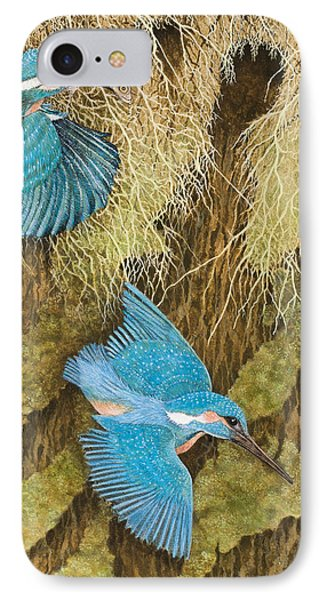 Sharing The Caring IPhone Case by Pat Scott