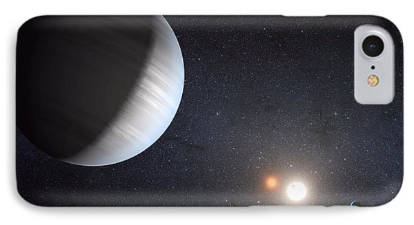 Sharing Two Suns IPhone Case