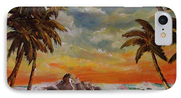 Sharks Cove North Shore Oahu #394 Phone Case by Donald k Hall