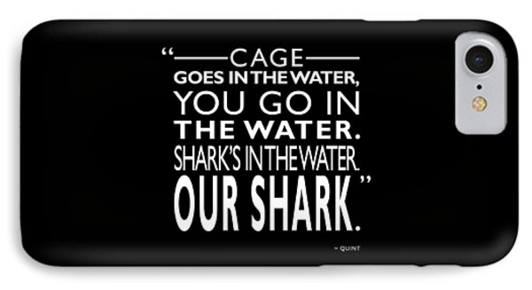 Sharks In The Water IPhone Case by Mark Rogan