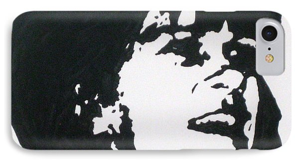 IPhone Case featuring the drawing Sharon Stemple by Robert Margetts