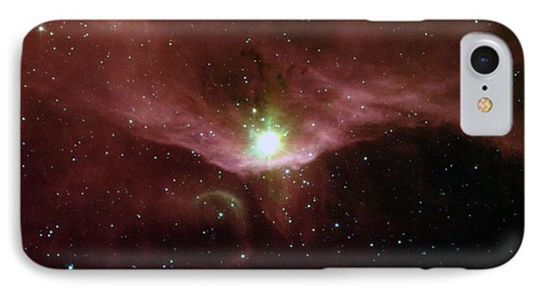 Sharpless 140 In The Constellation Cepheus IPhone Case by American School