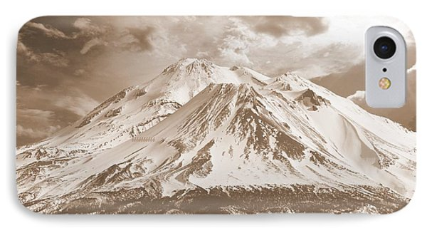 IPhone Case featuring the photograph Shasta Mt by Athala Carole Bruckner