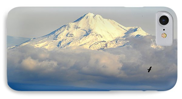 Shasta Near Sunset IPhone Case