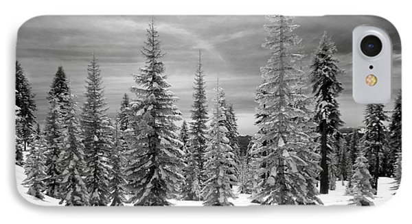 Shasta Snowtrees IPhone Case