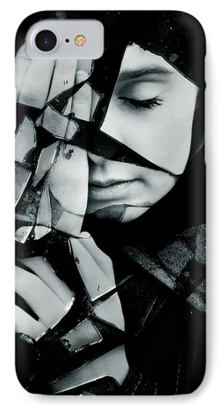 Shattered IPhone Case by Cambion Art