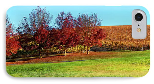IPhone Case featuring the photograph Shaw And Smith Winery by Bill Robinson