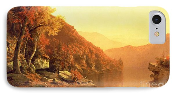 Shawanagunk Mountains IPhone Case by Jervis McEntee