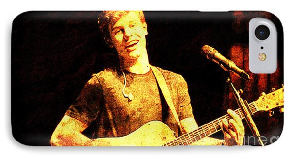 Shawn Mendes On Stage IPhone Case by Pablo Franchi