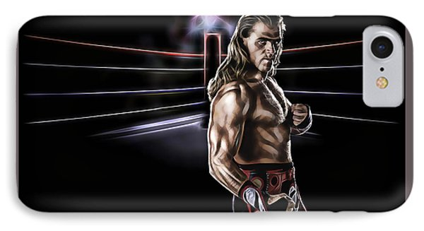 Shawn Michaels Wrestling Collection IPhone Case by Marvin Blaine