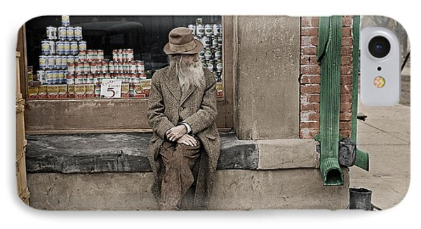 Shawneetown Colourised Phone Case by Russ Brown
