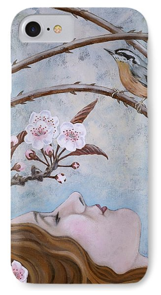 She Dreams The Spring IPhone Case by Sheri Howe