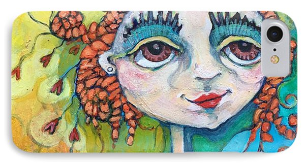 She Has Lots Of Heart To Give IPhone Case by Michelle Spiziri