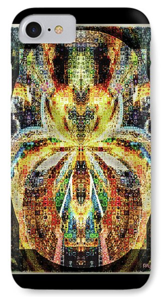 She Is A Mosaic IPhone Case by Paula Ayers