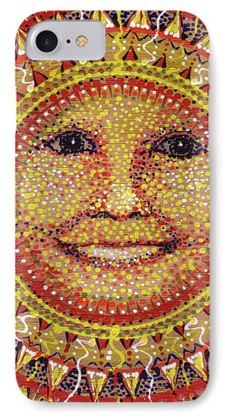 IPhone Case featuring the painting She Shines by Kym Nicolas