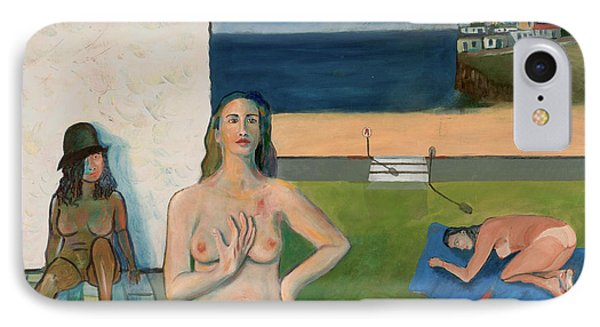 IPhone Case featuring the painting She Walks In Beauty by Paul McKey