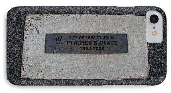 Shea Stadium Pitchers Mound IPhone Case