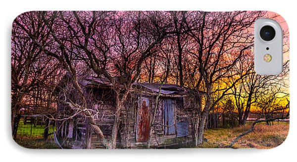 Shed And Sunset IPhone Case