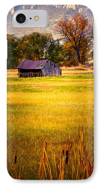 Shed In Sunlight Phone Case by Marilyn Hunt