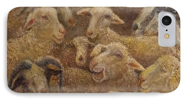 Sheep And Goats IPhone Case