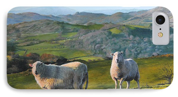 Sheep At Rhug IPhone Case