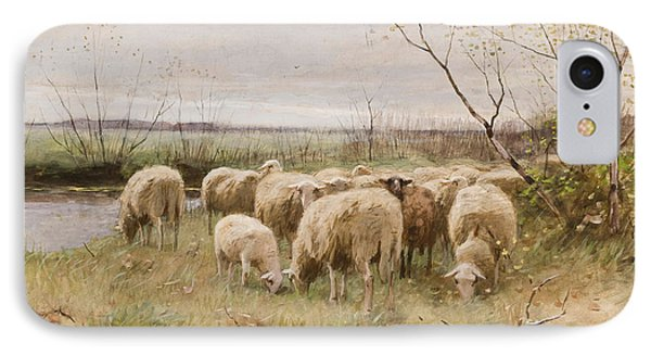 Sheep IPhone Case by Francois Pieter ter Meulen