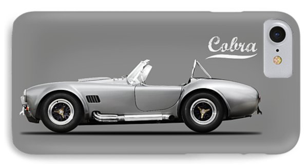 Shelby Cobra 427 Sc 1965 IPhone Case by Mark Rogan