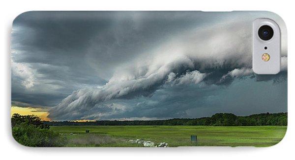 Shelf Cloud Phone Case by Joshua Blash